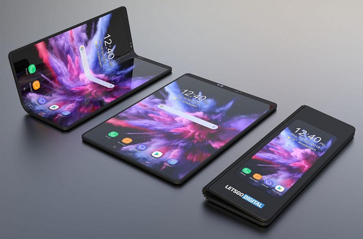 Smartphone 3 man hinh gap cua Samsung chuan bi xuat hien-Hinh-5