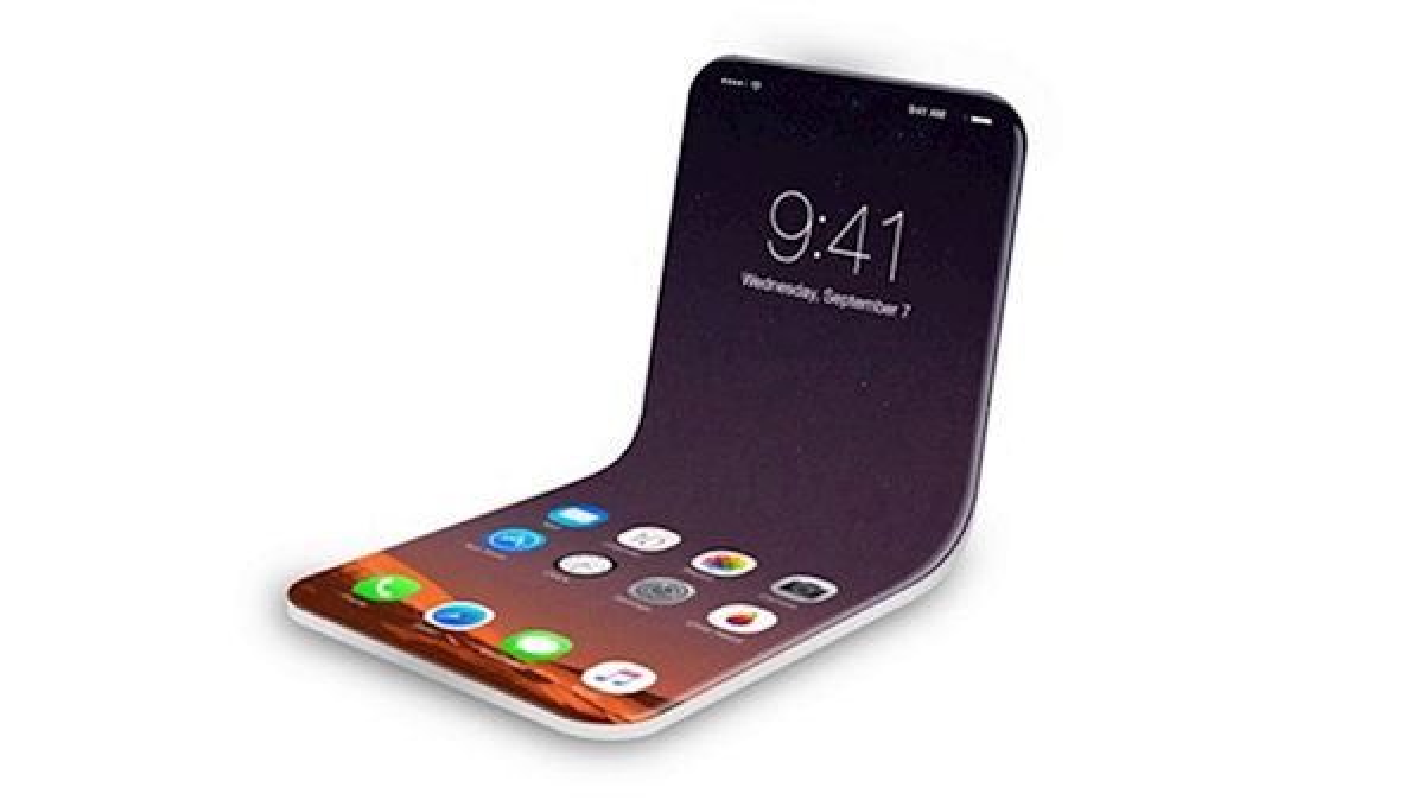 iPhone man hinh gap dep xuat than, an dut cong nghe cua Samsung-Hinh-3