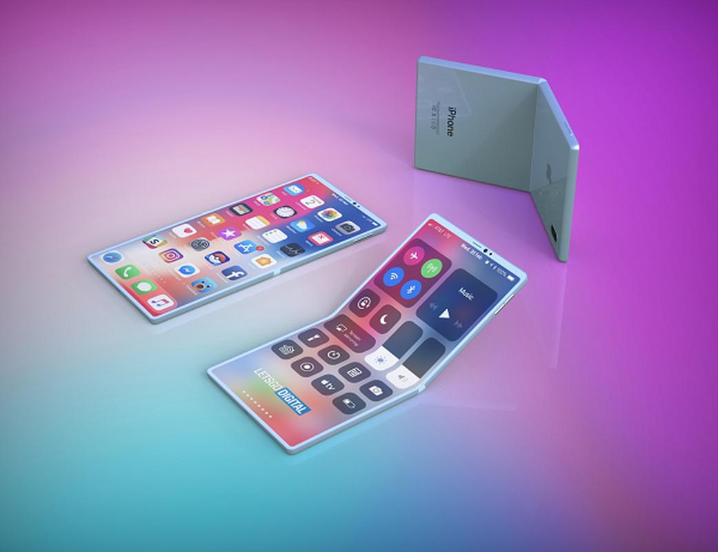 iPhone man hinh gap dep xuat than, an dut cong nghe cua Samsung-Hinh-4