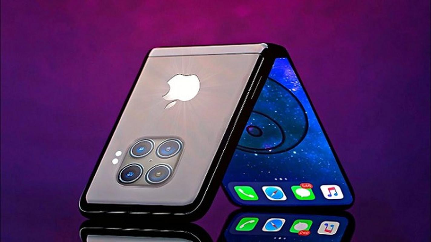 iPhone man hinh gap dep xuat than, an dut cong nghe cua Samsung-Hinh-5