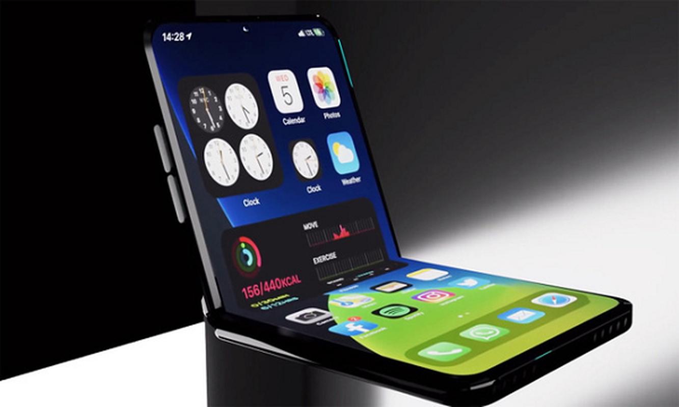 iPhone man hinh gap dep xuat than, an dut cong nghe cua Samsung-Hinh-6