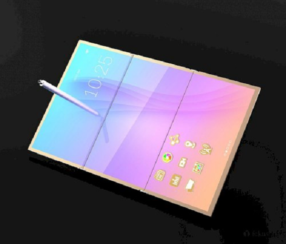 Soi can canh tablet ba man hinh gap cua Samsung sap ra mat-Hinh-6