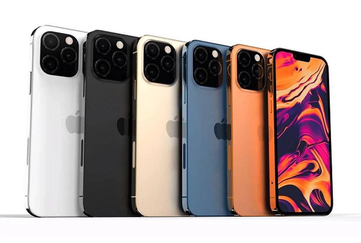 iPhone 13 bat ngo xuat hien mau cam dep la, camera xep cheo-Hinh-10