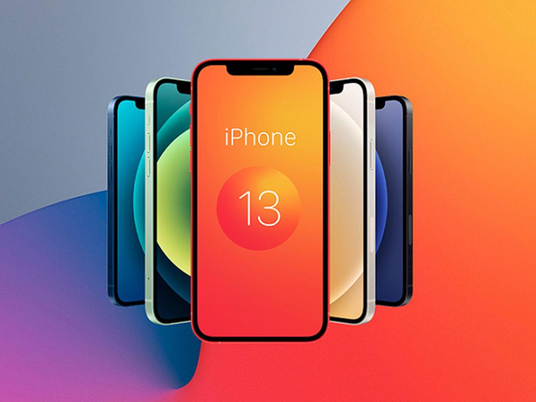 iPhone 13 bat ngo xuat hien mau cam dep la, camera xep cheo-Hinh-11