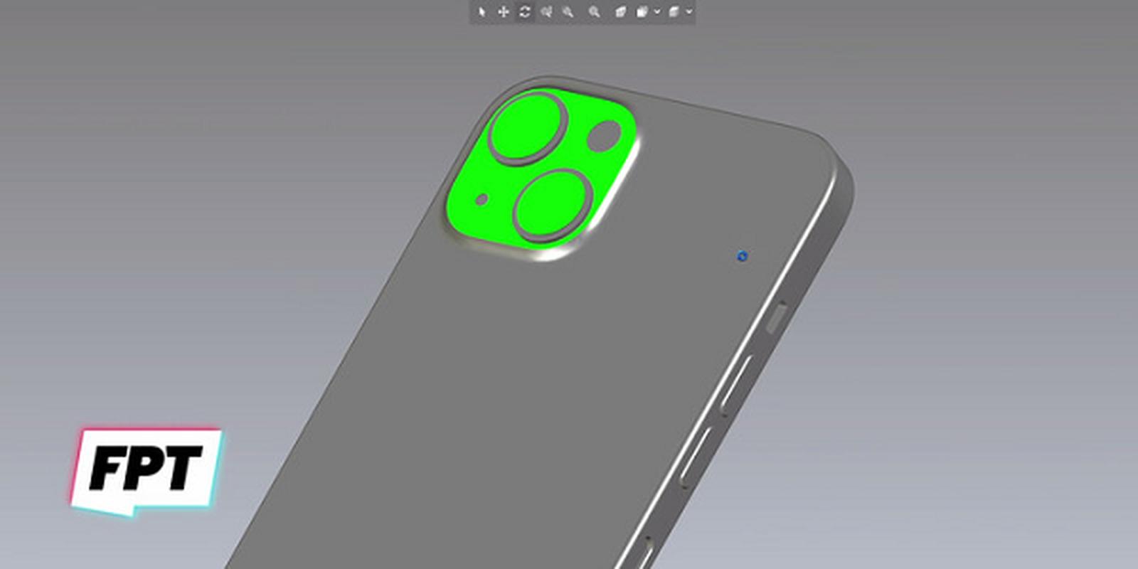 iPhone 13 bat ngo xuat hien mau cam dep la, camera xep cheo-Hinh-2