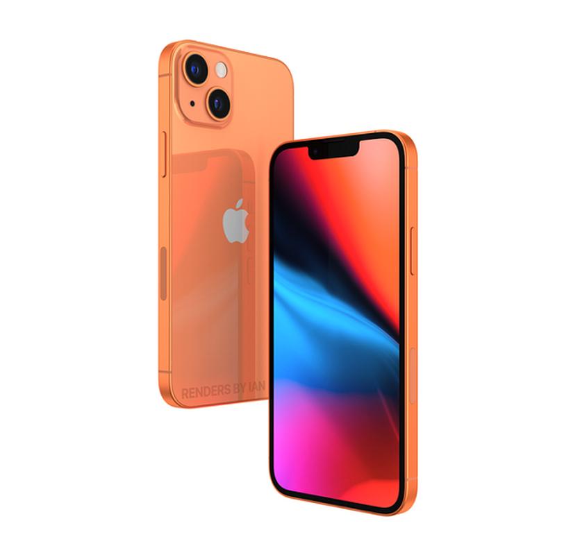 iPhone 13 bat ngo xuat hien mau cam dep la, camera xep cheo-Hinh-3