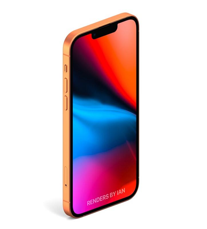 iPhone 13 bat ngo xuat hien mau cam dep la, camera xep cheo-Hinh-4