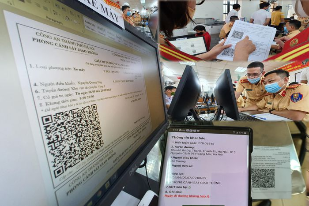Can canh giay di duong QR code dau tien duoc cap o Phong CSGT - CATP Ha Noi-Hinh-24