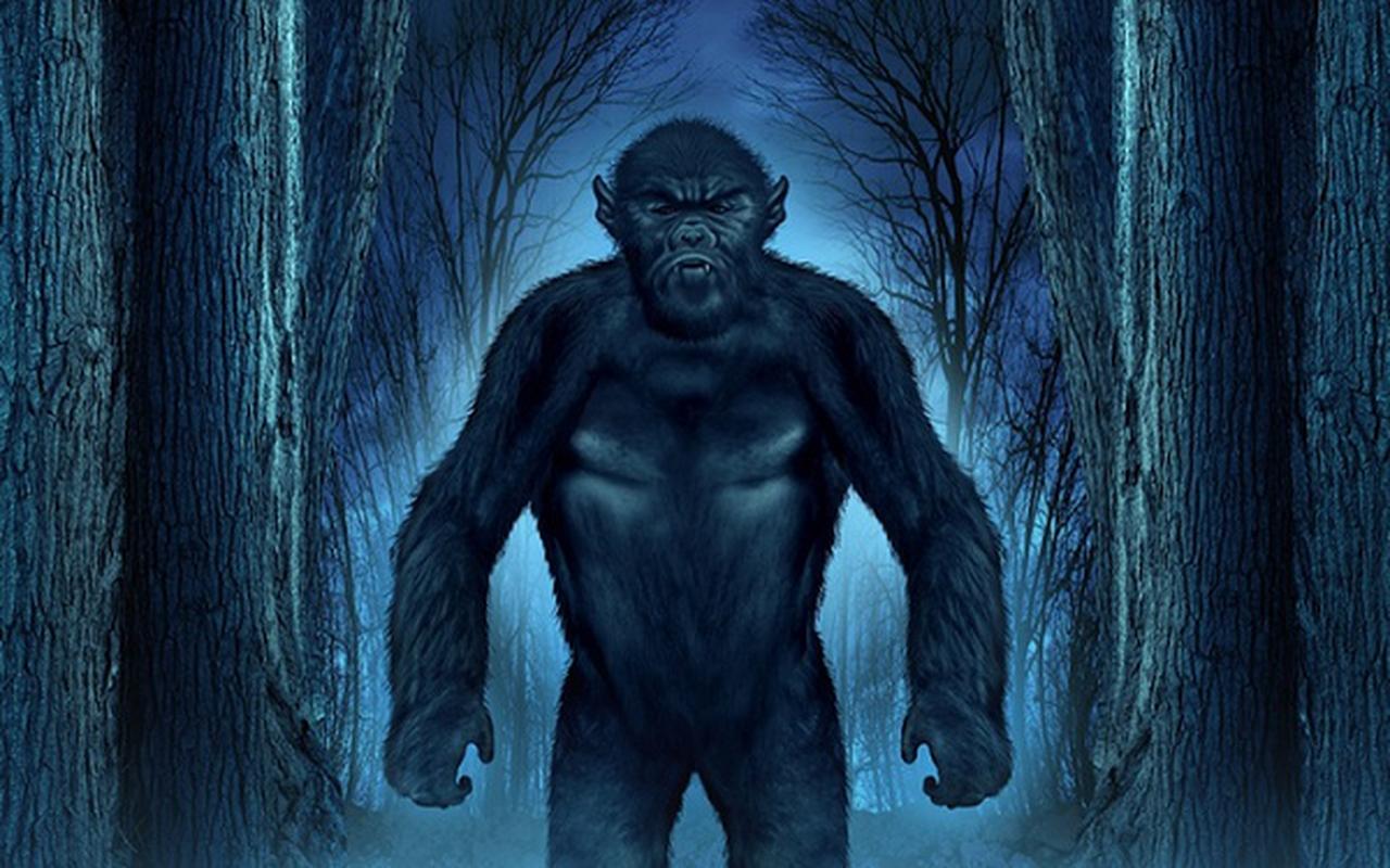 Bat qua tang khoanh khac quai vat Bigfoot xuat hien treu con nguoi