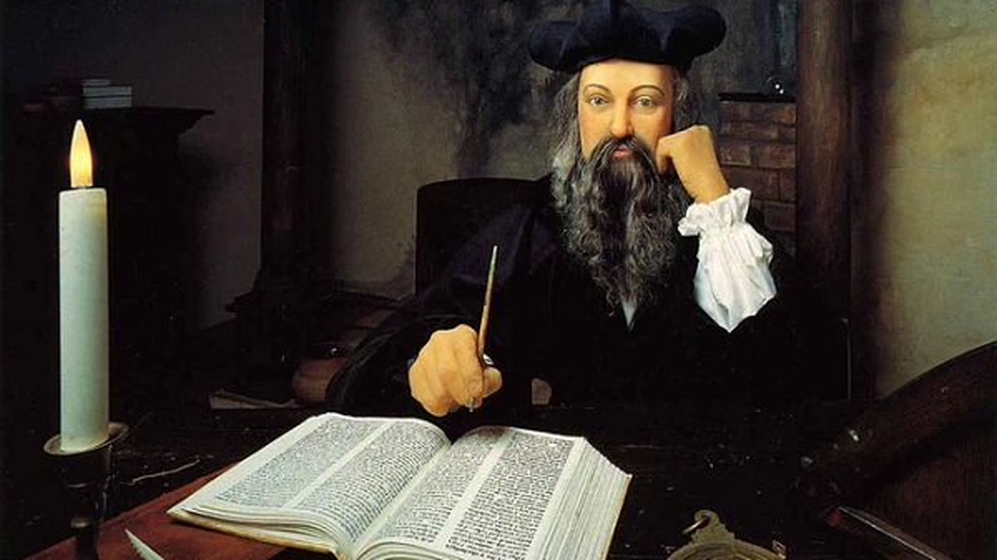 Kinh ngac sam truyen cua Nostradamus ve van menh Trai dat nam 2022