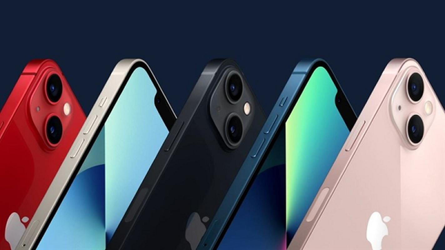 Tat tan tat 4 mau iPhone 13 dep long lanh Apple moi trinh lang