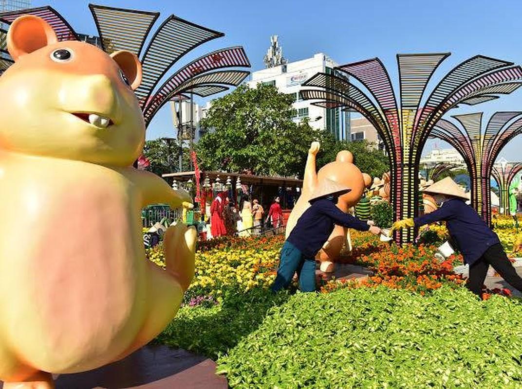 Chiem nguong duong hoa Nguyen Hue truoc ngay khai mac-Hinh-4