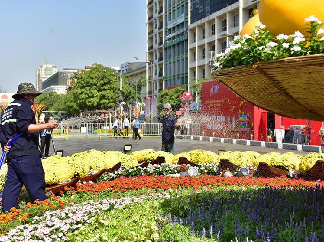 Chiem nguong duong hoa Nguyen Hue truoc ngay khai mac-Hinh-9