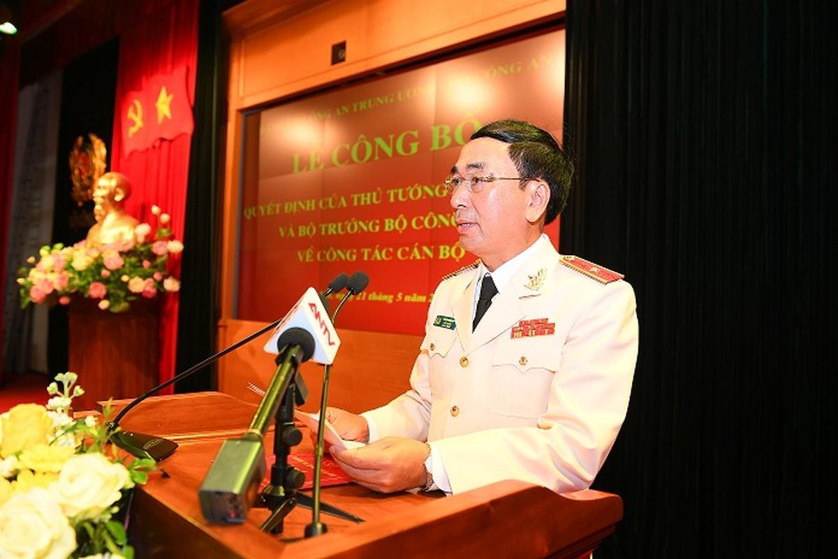 Chan dung 9 thu truong Bo Cong an