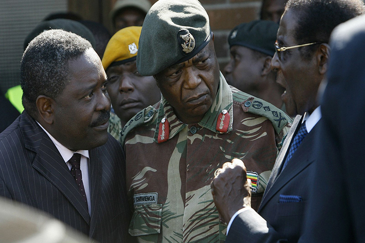 Giai ma dao quan bi nghi vua tien hanh dao chinh o Zimbabwe-Hinh-3