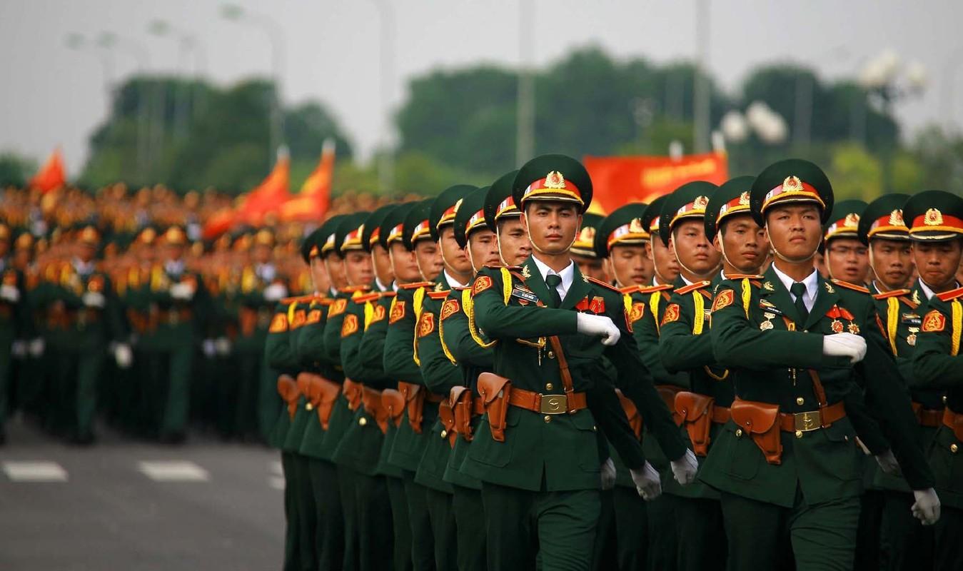 Hinh anh oai hung cua Quan doi Nhan dan Viet Nam sau 75 nam xay dung, phat trien