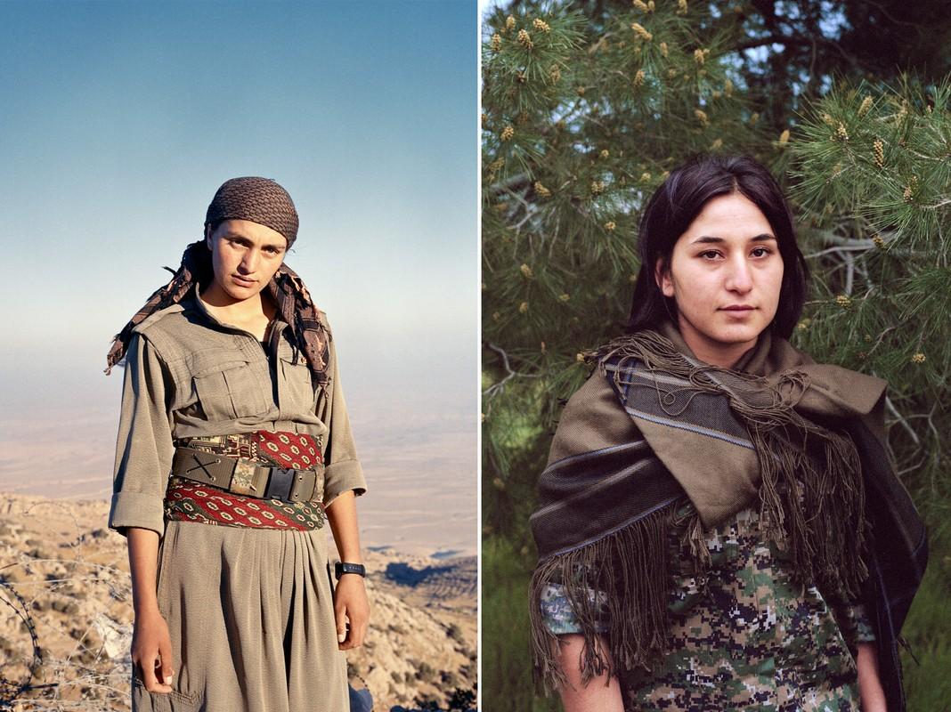Kurdistan - Xu so noi 40% cac chien binh la nu gioi-Hinh-2