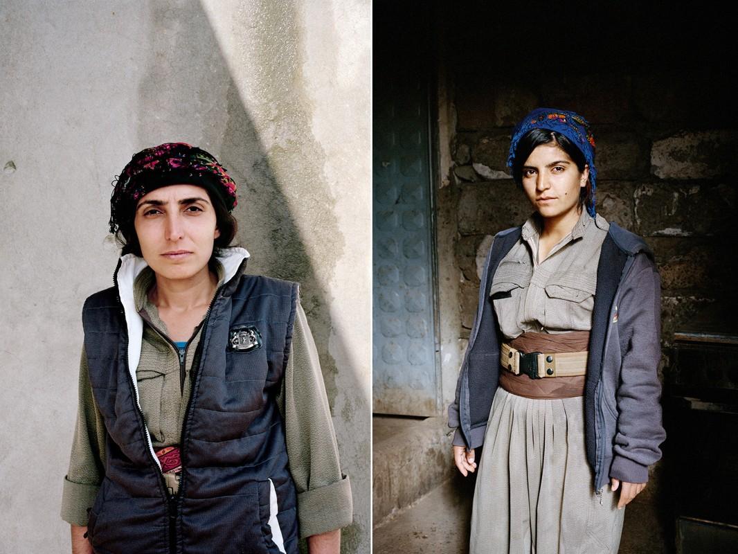Kurdistan - Xu so noi 40% cac chien binh la nu gioi-Hinh-3