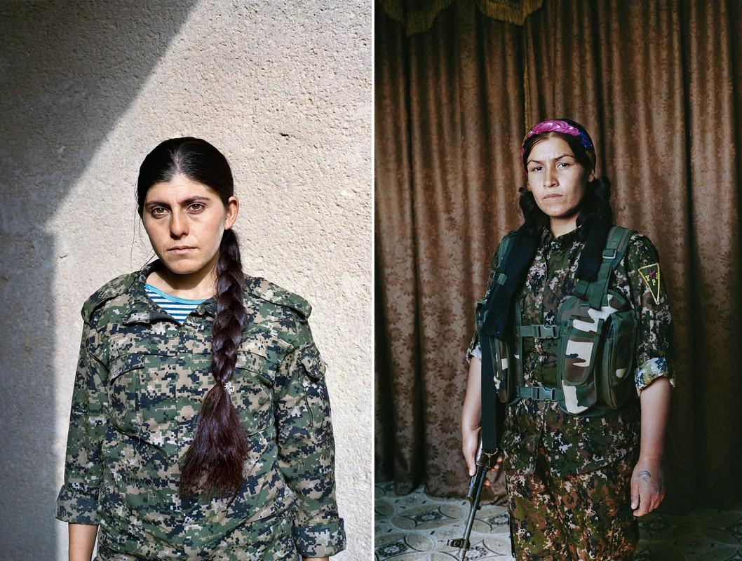 Kurdistan - Xu so noi 40% cac chien binh la nu gioi-Hinh-4