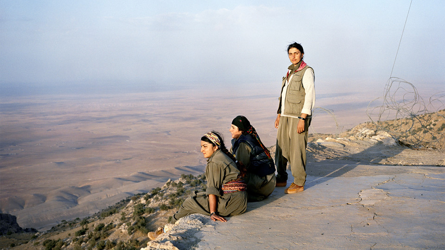 Kurdistan - Xu so noi 40% cac chien binh la nu gioi
