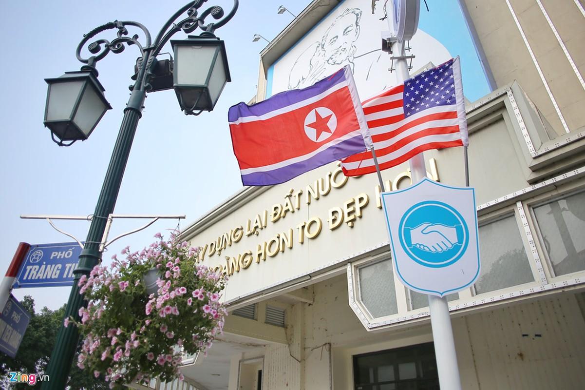 Pho phuong Ha Noi duoc trang hoang chuan bi cuoc gap Trump-Kim-Hinh-2