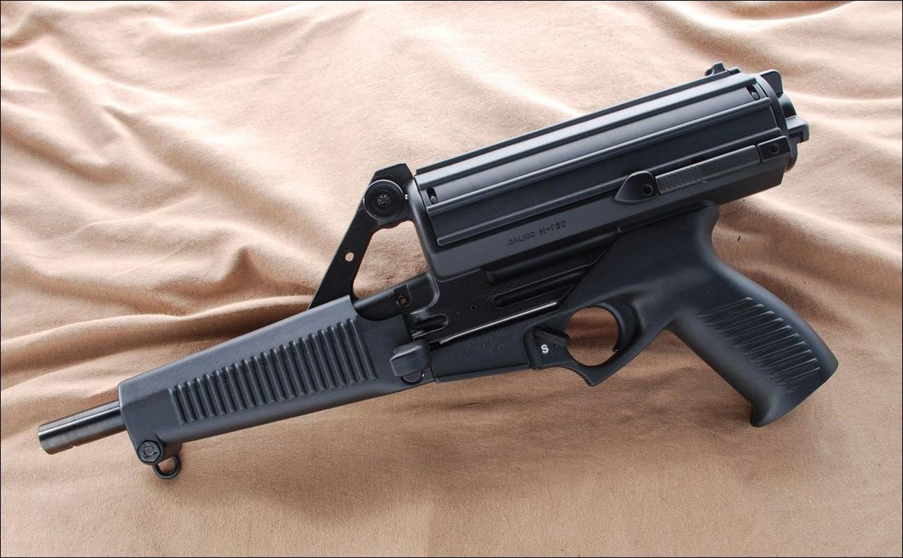 Calico M950 khau tieu lien co hop tiep dan
