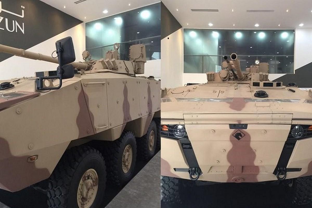 Nga qua uu ai UAE, BMP-3 xuat hien bien the banh lop-Hinh-11