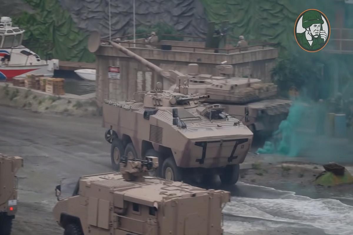 Nga qua uu ai UAE, BMP-3 xuat hien bien the banh lop-Hinh-2