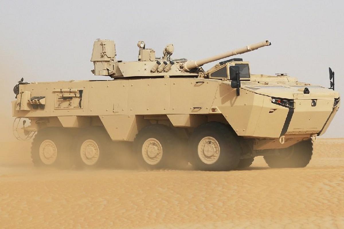 Nga qua uu ai UAE, BMP-3 xuat hien bien the banh lop-Hinh-8