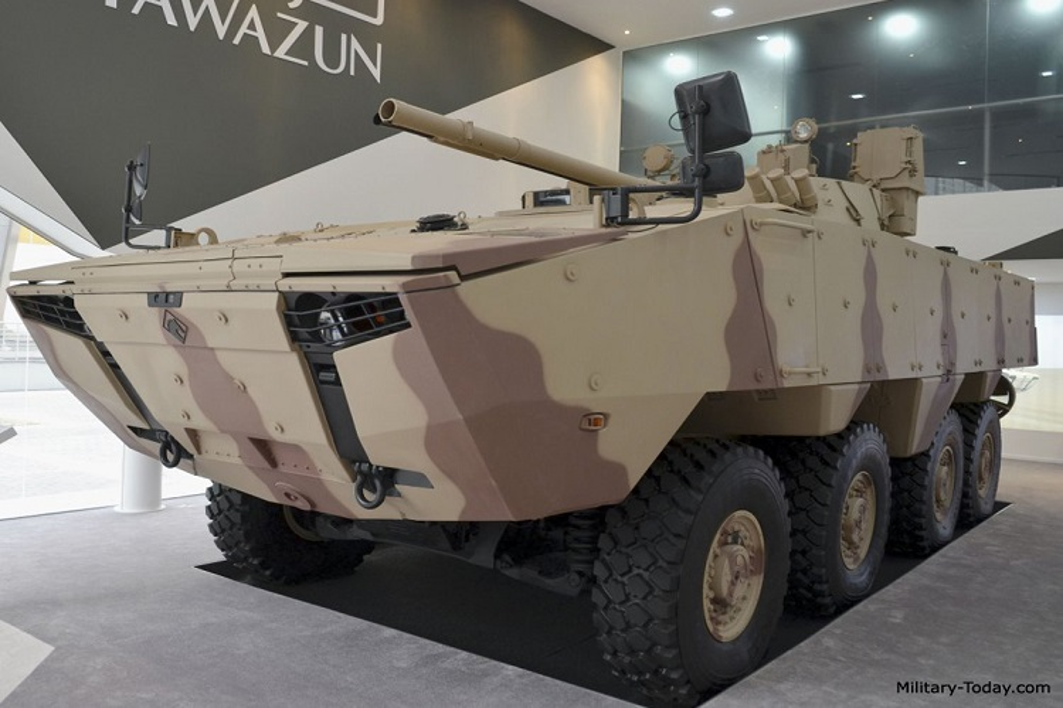 Nga qua uu ai UAE, BMP-3 xuat hien bien the banh lop-Hinh-9