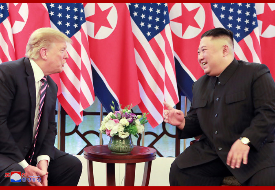 Bo anh doc dao tu phia Trieu Tien ve buoi an toi cua Trump - Kim-Hinh-2