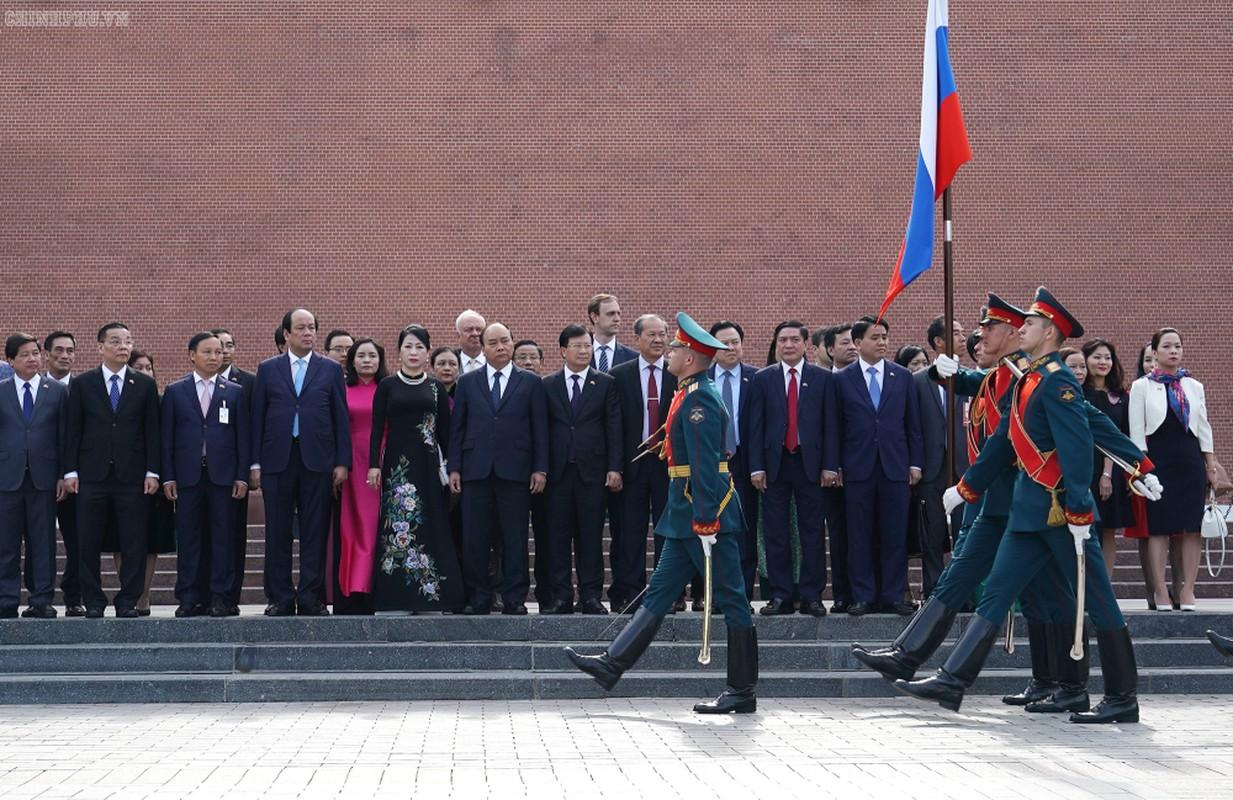 Thu tuong Nguyen Xuan Phuc hoi kien Tong thong Nga Vladimir Putin-Hinh-4