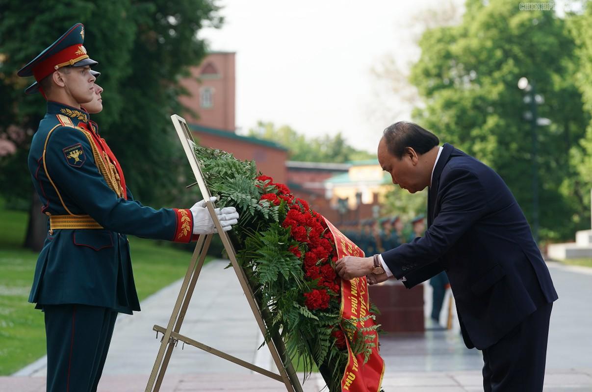 Thu tuong Nguyen Xuan Phuc hoi kien Tong thong Nga Vladimir Putin-Hinh-5