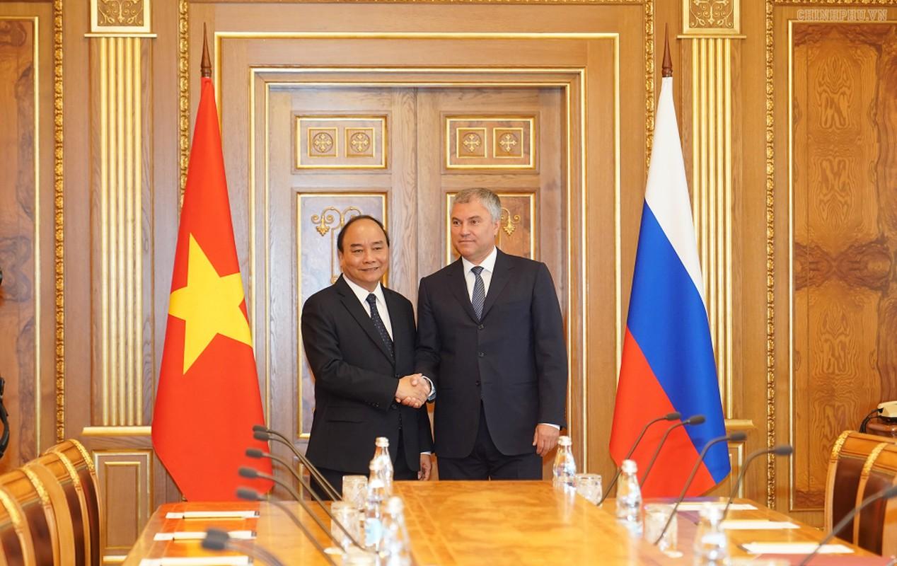 Thu tuong Nguyen Xuan Phuc hoi kien Tong thong Nga Vladimir Putin-Hinh-6