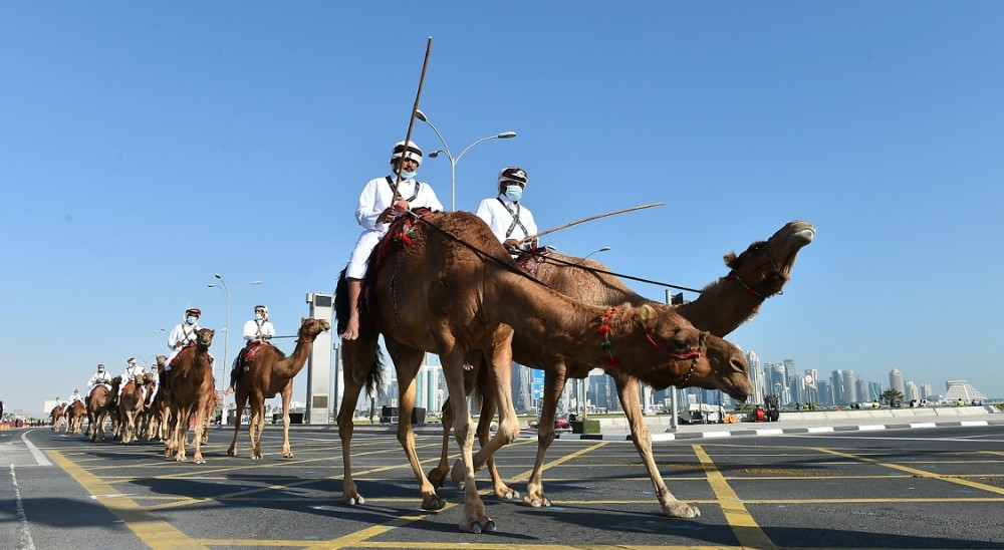 Den hen lai len: Quan doi Qatar duyet binh voi ky binh va lac da-Hinh-13
