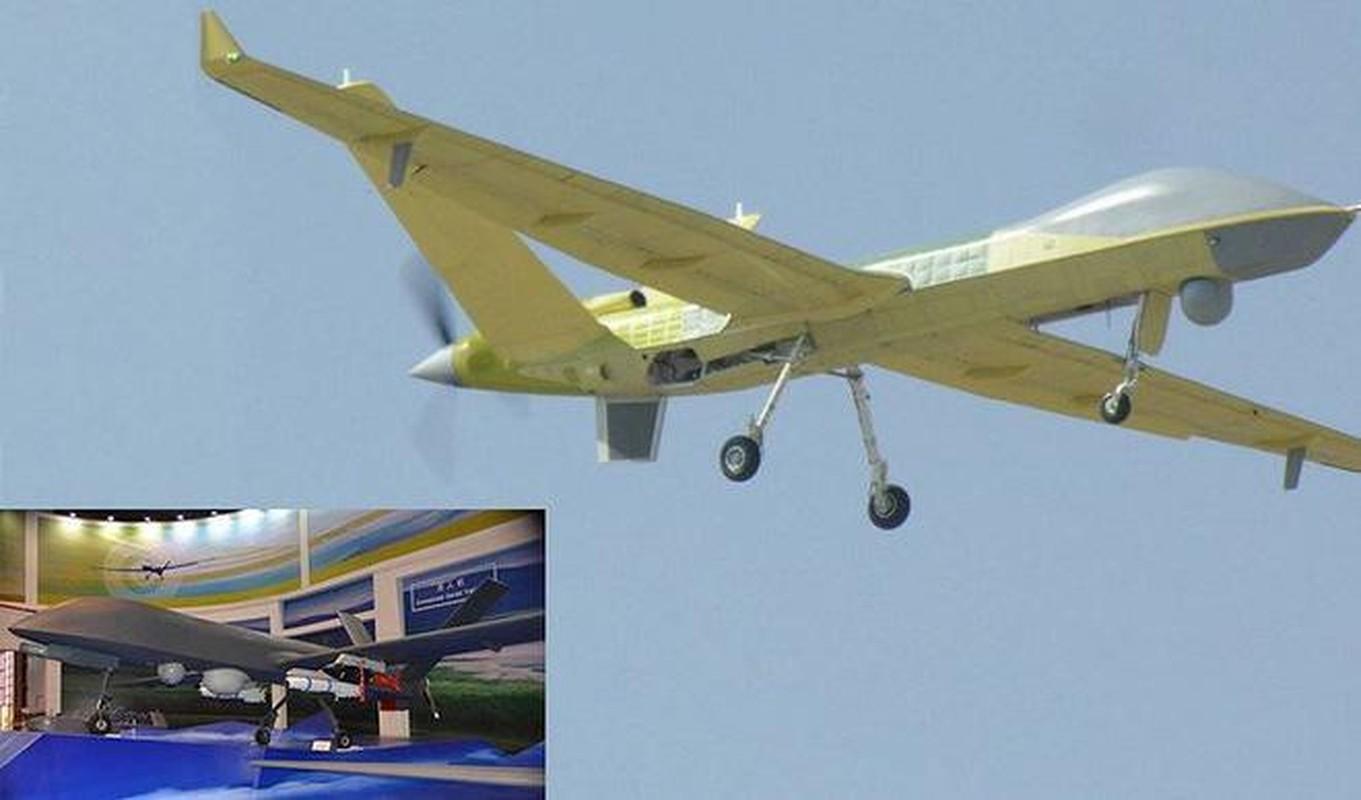 UAV tan cong Trung Quoc lam nhai My bi