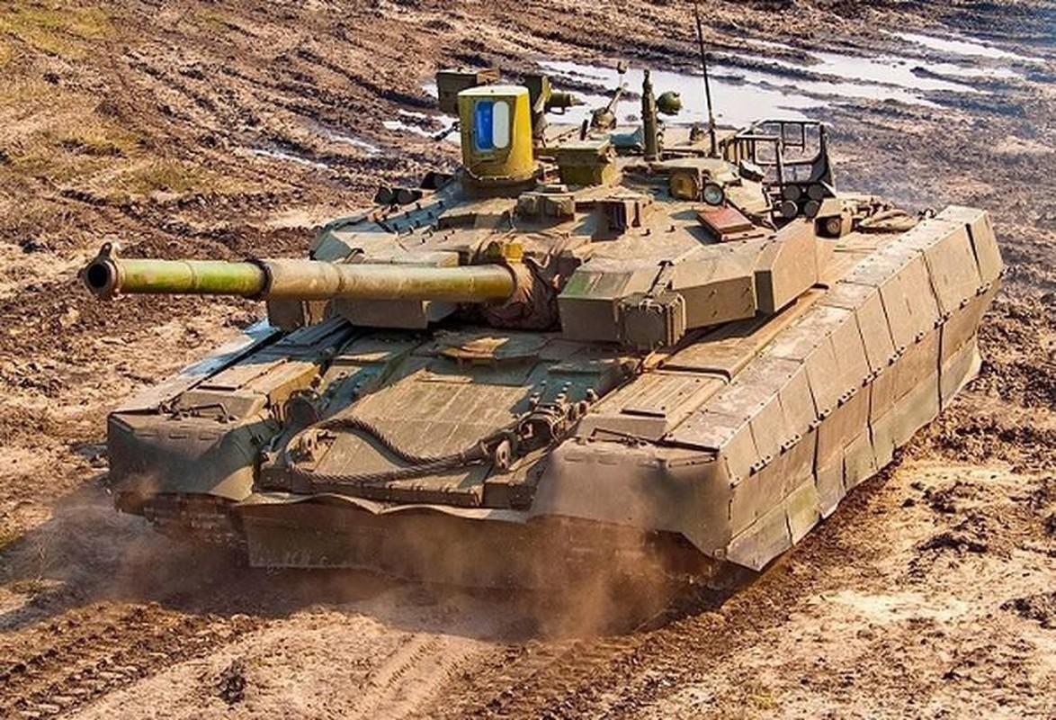 Ukraine tuyen bo nang cap T-64 len manh ngang... T-90 cua Nga-Hinh-6