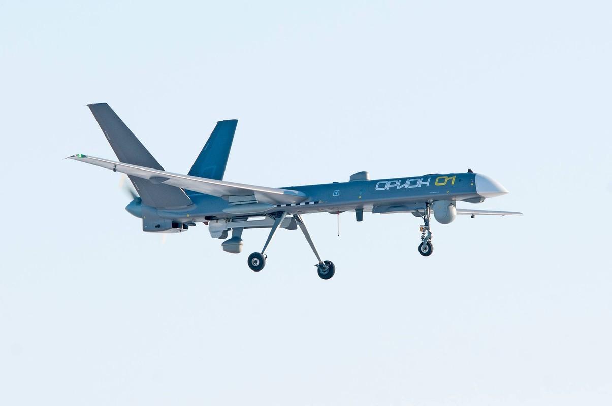 Nga lan dau khoe UAV Orion mang theo vu khi khung-Hinh-5