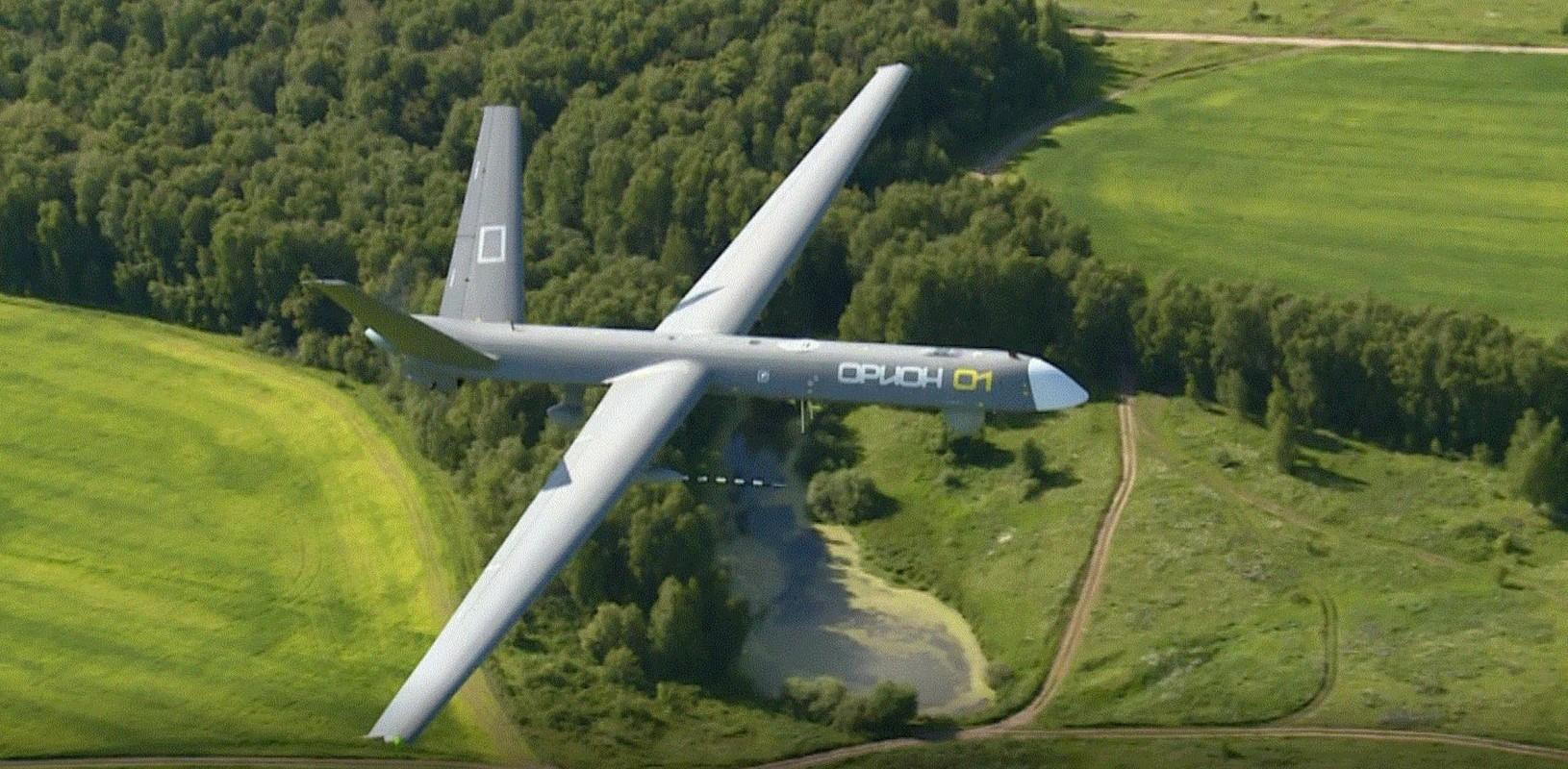 Nga lan dau khoe UAV Orion mang theo vu khi khung-Hinh-7