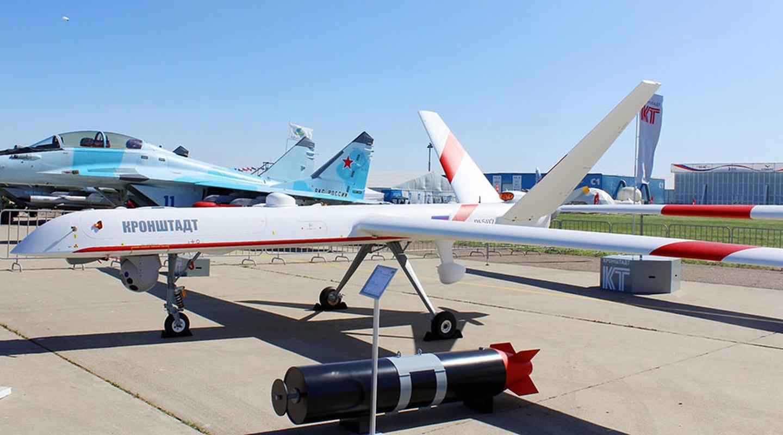 Nga lan dau khoe UAV Orion mang theo vu khi khung-Hinh-9
