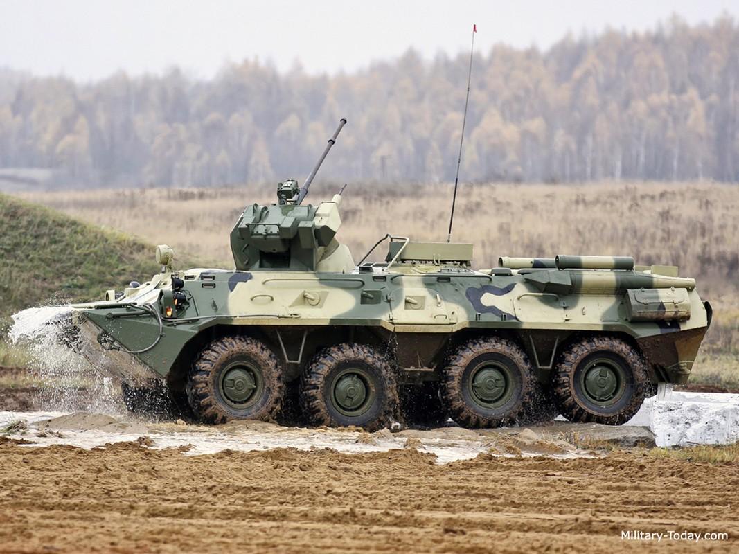 Khoanh khac xe thiet giap BTR-82 cua Nga no tung o Syria-Hinh-12