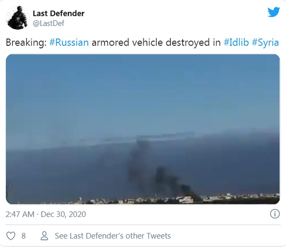 Khoanh khac xe thiet giap BTR-82 cua Nga no tung o Syria-Hinh-2