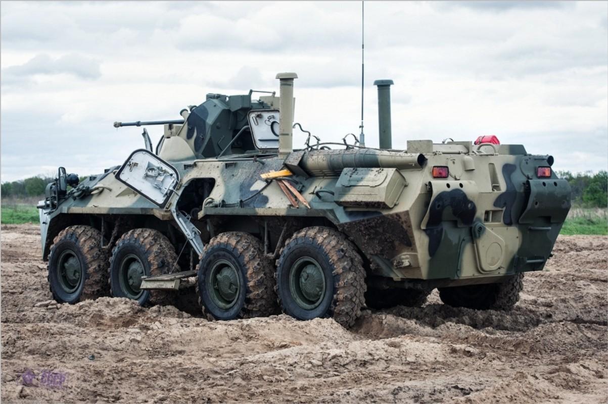 Khoanh khac xe thiet giap BTR-82 cua Nga no tung o Syria-Hinh-4
