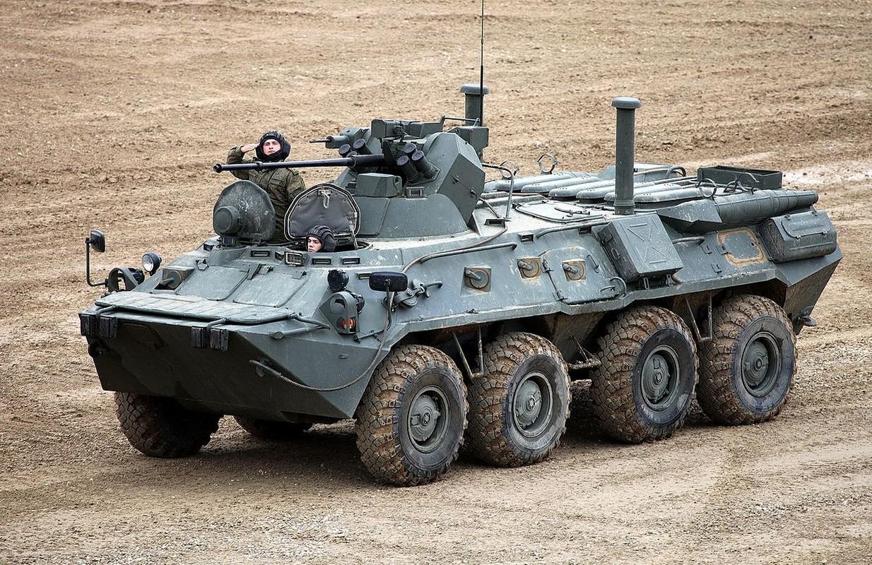 Khoanh khac xe thiet giap BTR-82 cua Nga no tung o Syria-Hinh-5