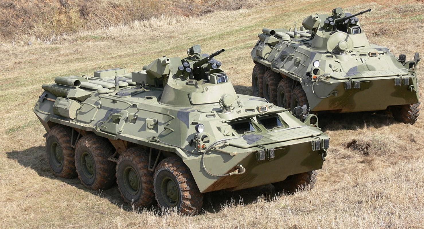 Khoanh khac xe thiet giap BTR-82 cua Nga no tung o Syria-Hinh-6