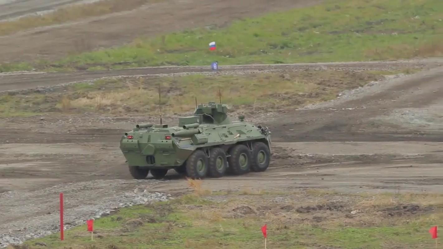 Khoanh khac xe thiet giap BTR-82 cua Nga no tung o Syria-Hinh-7