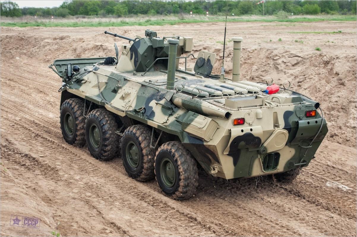 Khoanh khac xe thiet giap BTR-82 cua Nga no tung o Syria-Hinh-8
