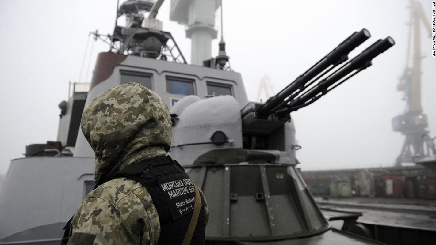 Chuyen gia Ukraine muon cho no cau Kerch, bien Crimea thanh Tran Chau Cang