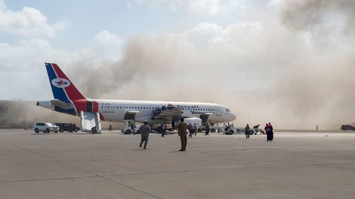 San bay Yemen bi tan cong boi ban sao cua ten lua Kh-55 Lien Xo-Hinh-13