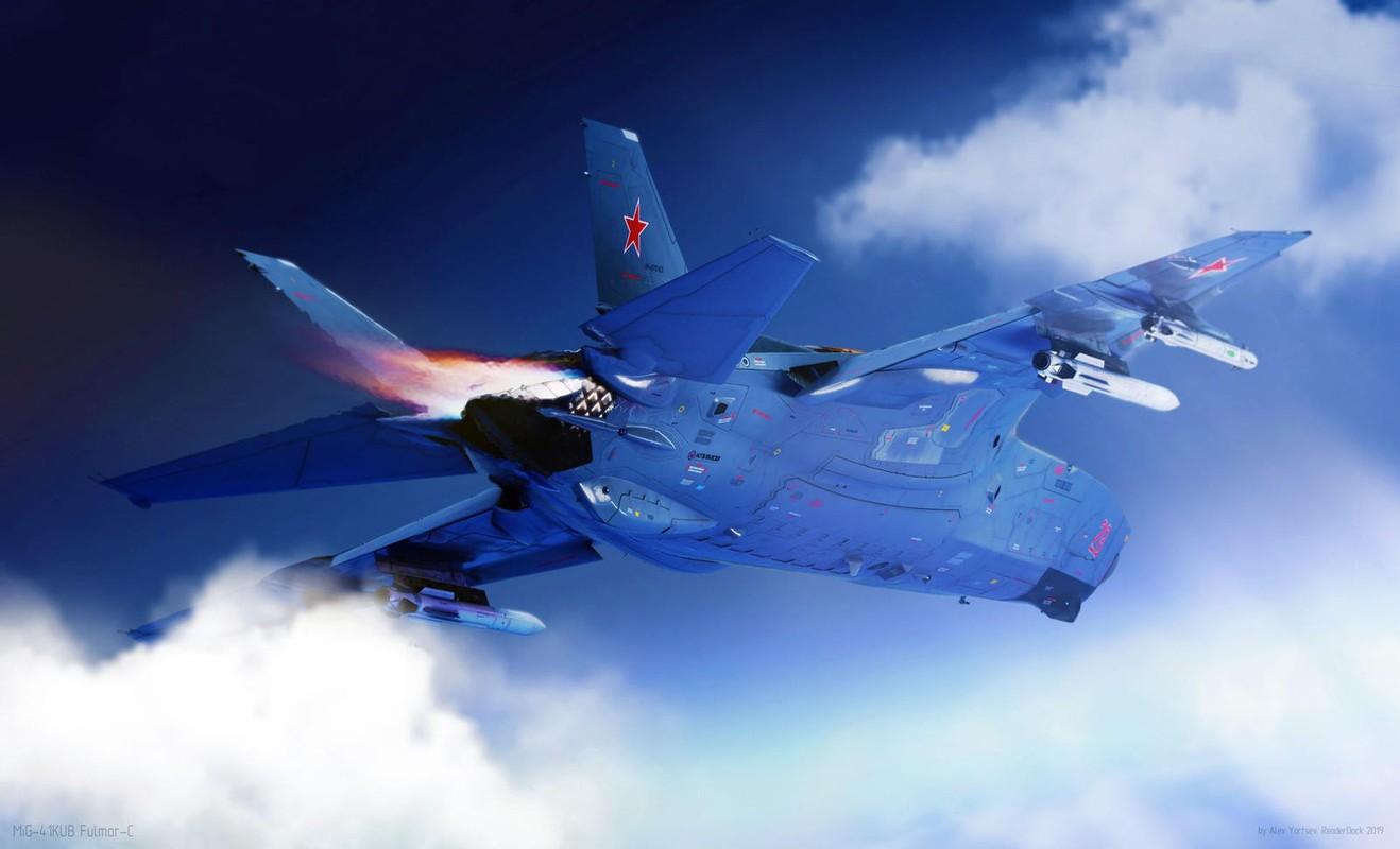 Thiet ke cuc doc cua tiem kich MiG-41 lieu co thanh hien thuc